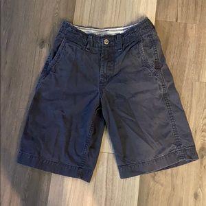 ✅AMERICAN EAGLE Longer Length Khaki Shorts Navy 26